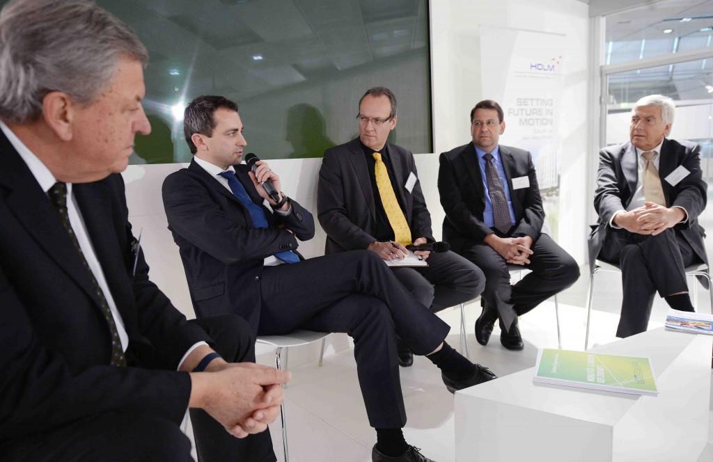 Jürgen Schultheis, Walter Hecke, Martin Rust, Kai Probst, Volker Sparmann
