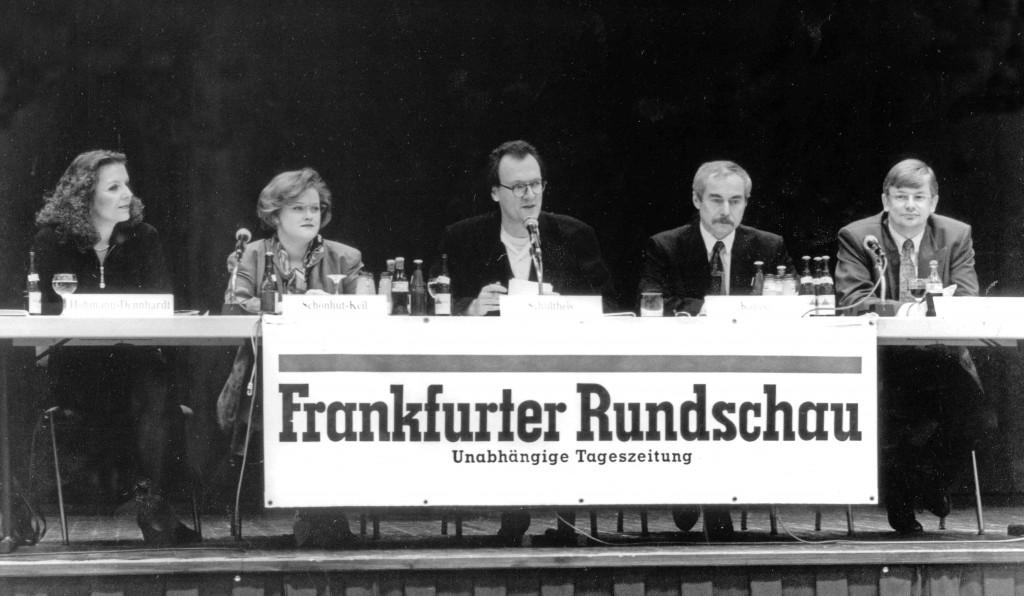 Jürgen Schultheis, Christine Hohmann-Dennhardt, Evelin Schönhut Keil, Roland Koch, Heiner Kappel, FR