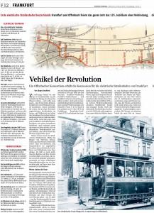 125 Jahre elektrische Straßenbahn zwischen Frankfurt und Offenbach 1