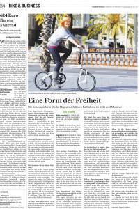 Bike + Business 2011: Jürgen Schultheis Interviewt Schauspielerin Wolke Hegenbarth.
