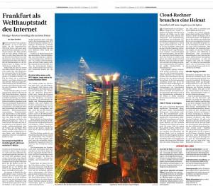 Frankfurt, Frankfurt Cloud und der deutsche Internetknoten DE-CIX