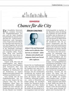 Frankfurt Airpor City, Flughafen, Stadtentwicklung, Standort FrankfurtRheinMain