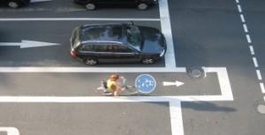 Radverkehr Autoverkehr, nachhaltige Mobilität