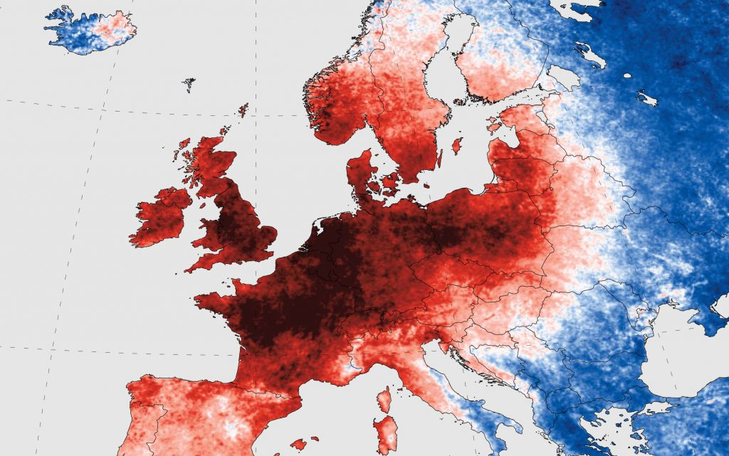 Hitzewelle Europa Klimawandel Jürgen Schultheis Globale Trends 2035