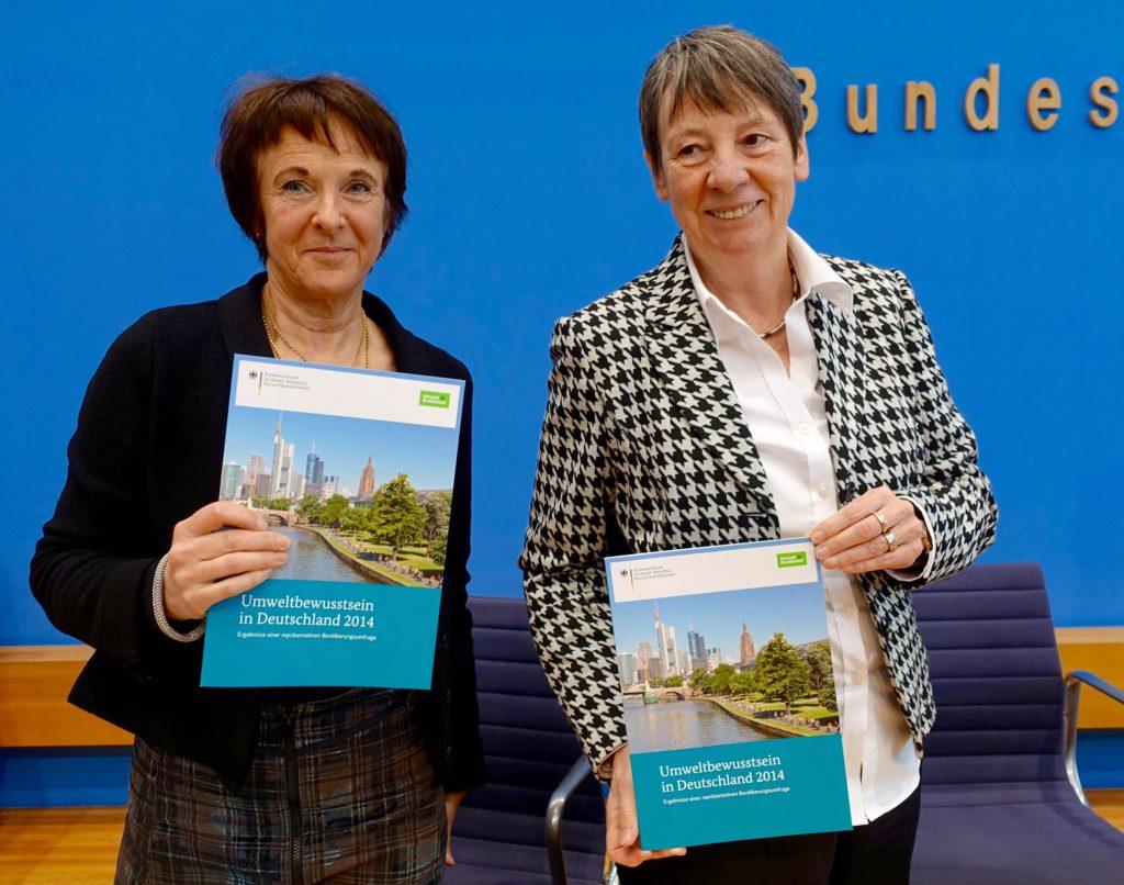 Klimawandel, Verkehr, Barbara Hendricks, Maria Krautzberger, Jürgen Schultheis