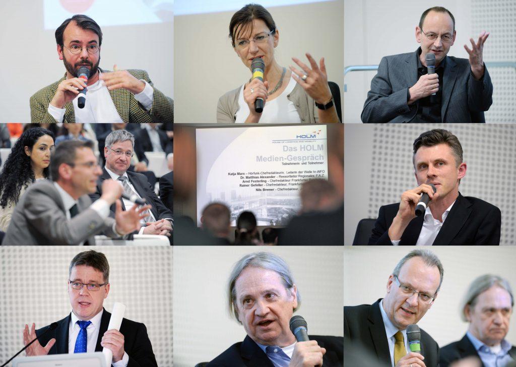 Jürgen Schultheis, Katja Marx, Arnd Festerling, Nils Bremer, Rainer Gefeller, Medien, Presse, Frankfurt, House of Logistics and Mobility, HOLM, Chefredakteure