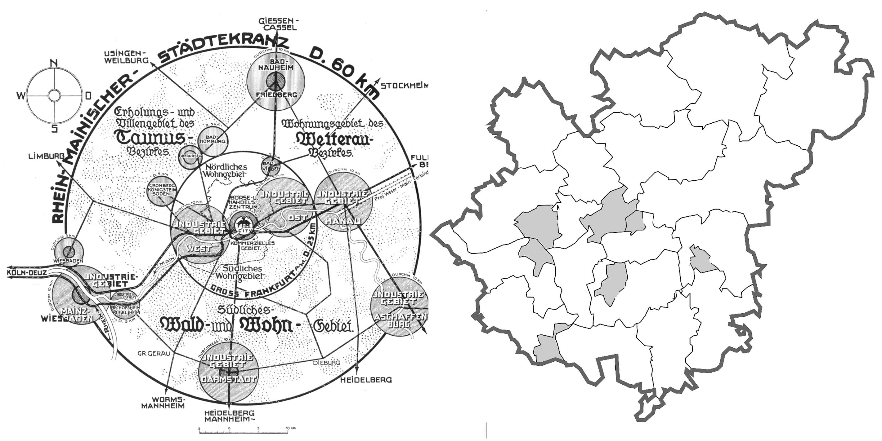Metropolregion FrankfurtRheinMain, Rhein-Mainischer Städtekranz, Initiativkreis Metropolregion FrnakfurtRheinMain