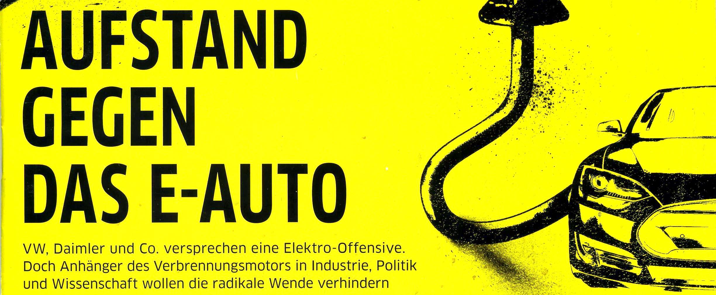 E-Auto, Elektromobilität, Wirtschaftswoche, RWTH, Jürgen Schultheis, Diesel, Dieselskandal, Verbrennungsmotor