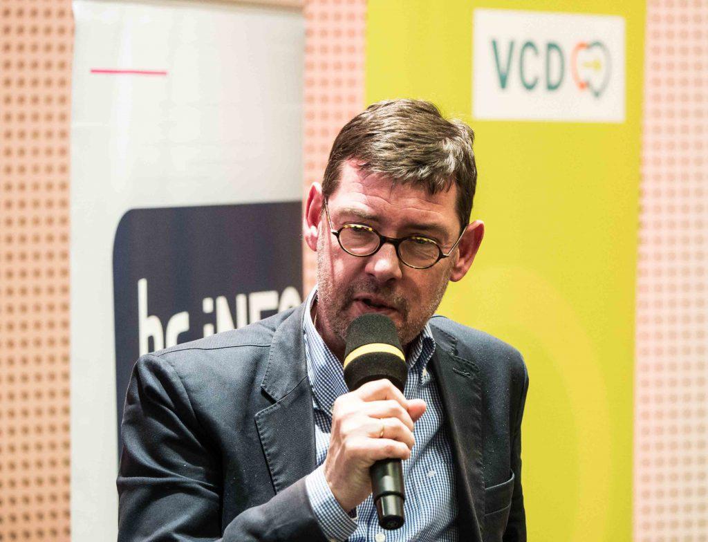 Prof. Dr. Michael Schreckenberg, Ethik der Mobilität, Frankfurt