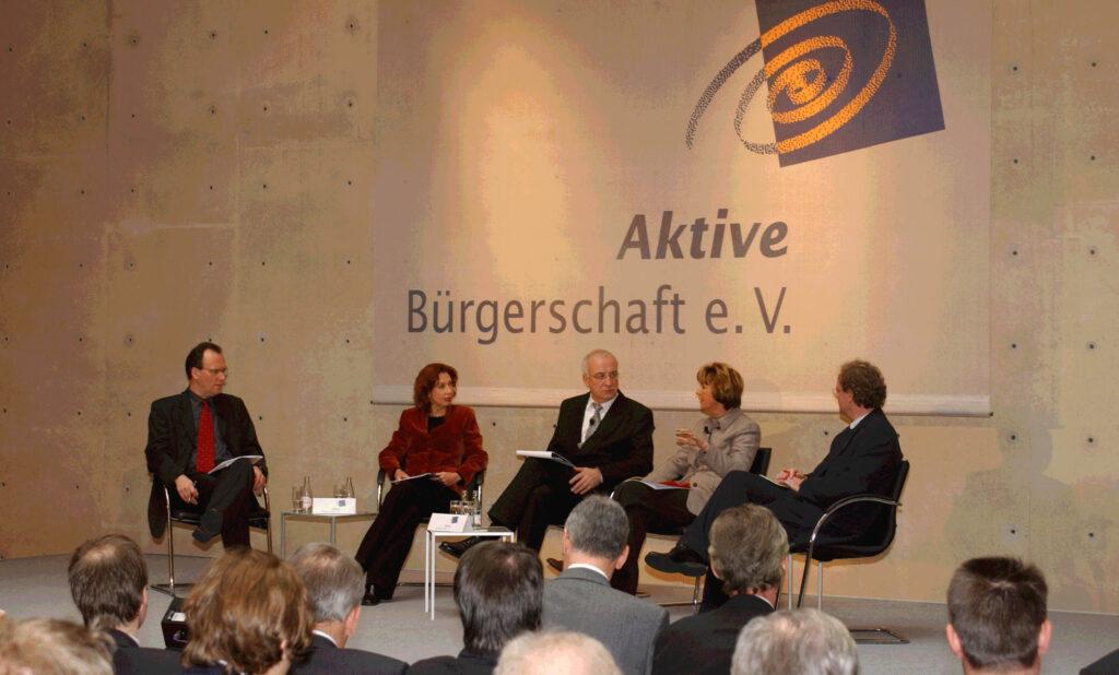 Fritz Pleitgen, Maria von Welser, Petra Lidschreiber, Jürgen Schultheis, Aktive Bürgerschaft, Berlin