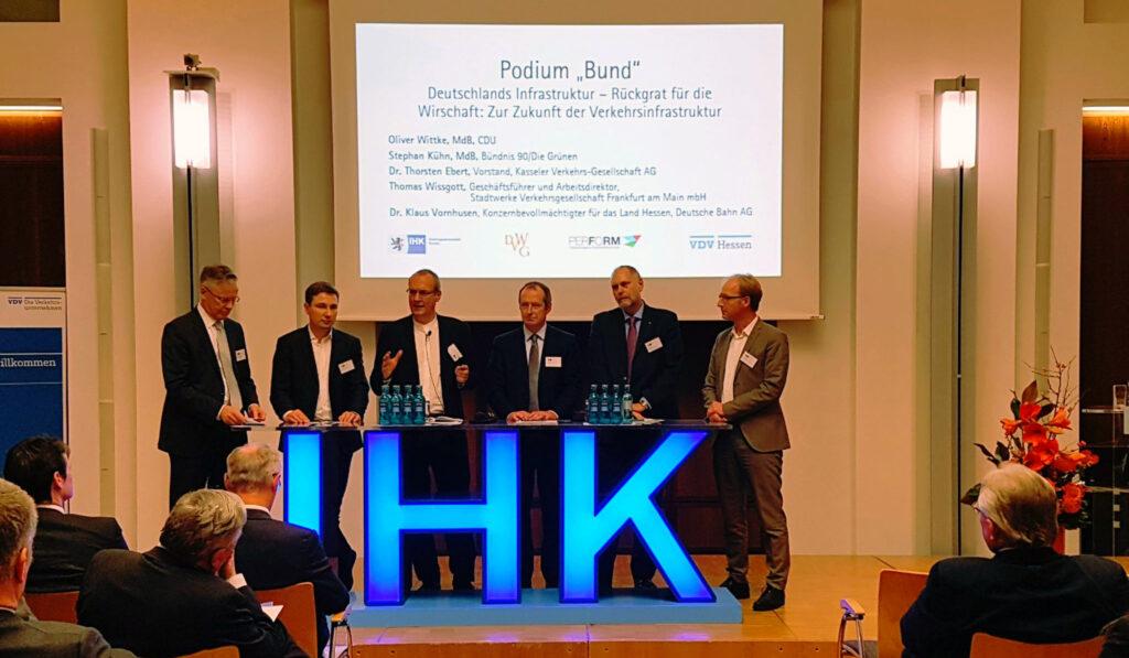 IHK Frankfurt, VDV, Klaus Vornhusen, Stephan Kühn, Jürgen Schultheis, Oliver Wittke, Thomas Wissgott, Dr. Thorsten Ebert.